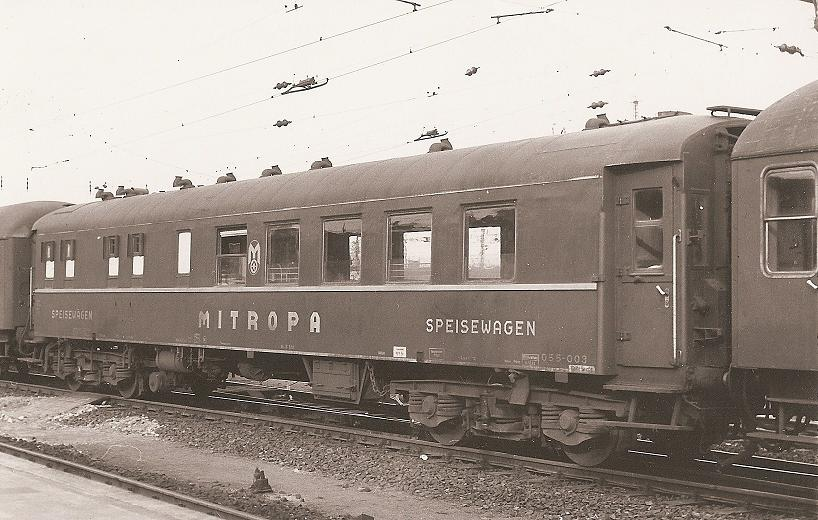 Car 3793 converted by Mitropa
