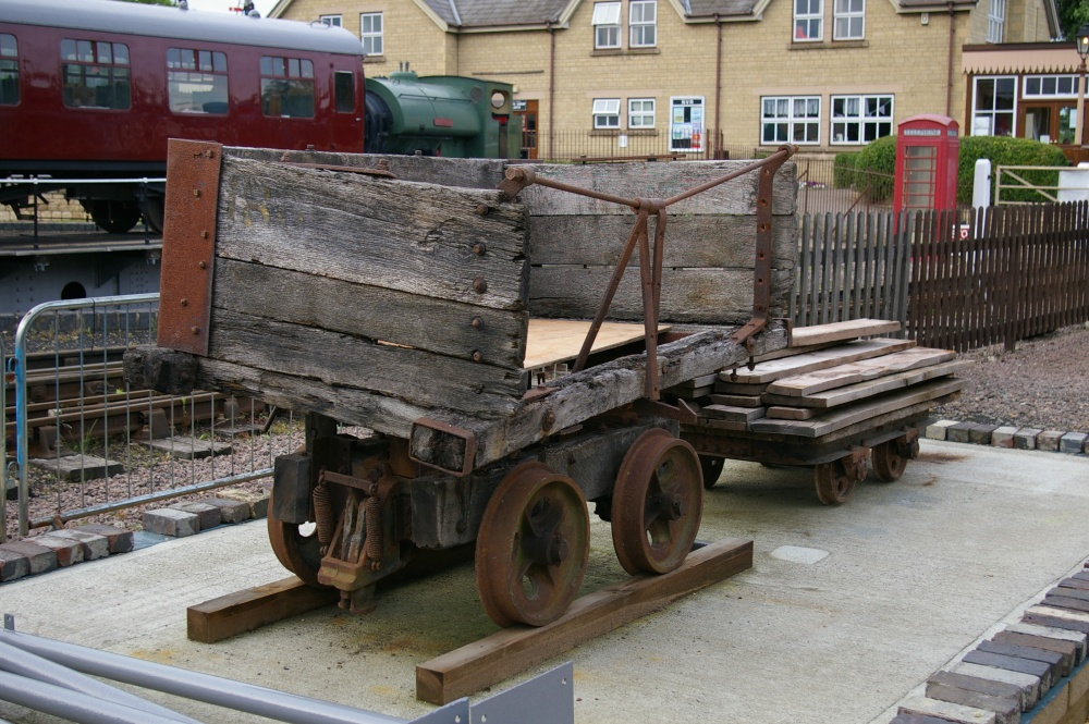 LBC Wagon no. 180 at Wansford